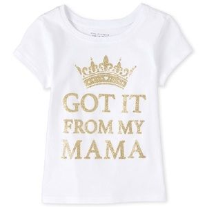 "Toddler Girl ""Got It From My Mama"" Graphic T-Shirt"
